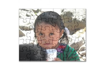Atitlan's Children Food Puzzle by CafePress
