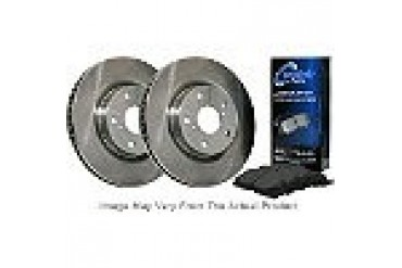 2007 Mercedes Benz ML320 Brake Disc and Pad Kit Centric Mercedes Benz Brake Disc and Pad Kit BKF105000