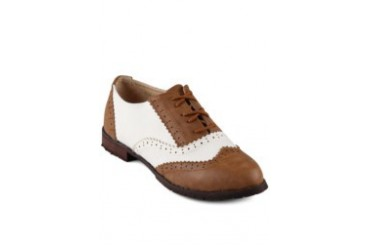 FLY Diamantina Oxford Shoe Brown