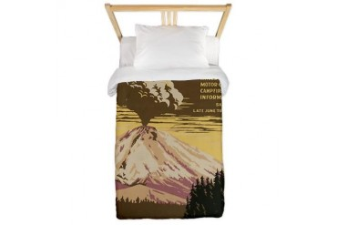 wpa 12.jpg Vintage Twin Duvet by CafePress