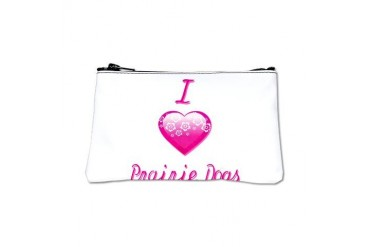 I Love/Heart Prairie Dogs Animals Coin Purse by CafePress