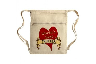 Sack Pack Trucker Cinch Sack by CafePress
