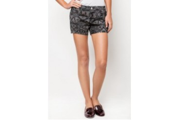 Mango Printed Shorts