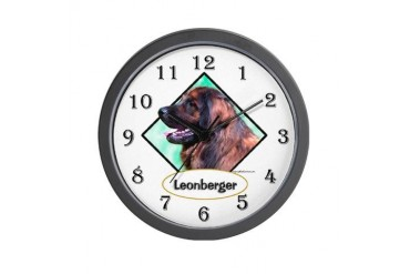 Leon 1 Pets Wall Clock by CafePress