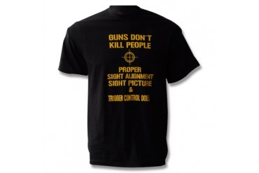 Guns Don't Kill T-Shirt - XL