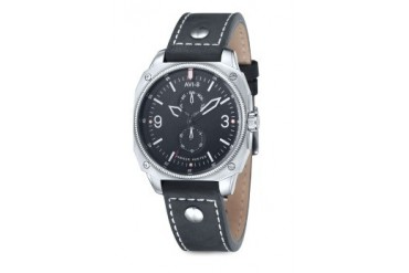 Hawker Hunter Silver Watch