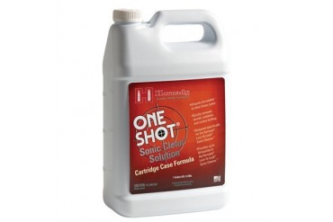 Hornady One Shot Sonic Clean Solutions - One Shot Sonic Clean Brass Solution 1 Gal.
