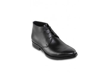 ZALORA Leather High Top Dress Shoes