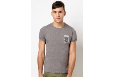 EZRA by ZALORA Poker Card Pocket Tee