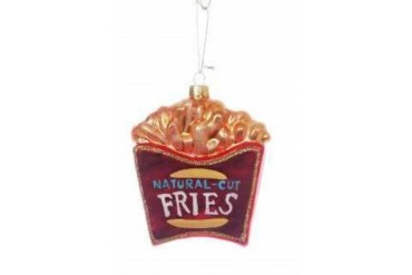 French Fried Potatoes French Fries Christmas Ornament
