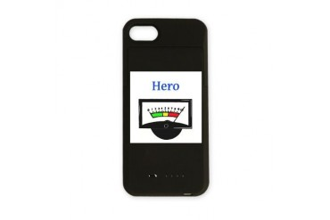 herometer.png Mother's day iPhone Charger Case by CafePress