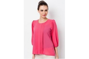 Ethnic Chic Ayu Long Sleeve Blouse