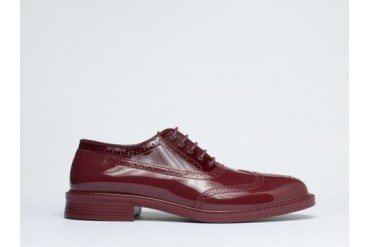 Vivienne Westwood Brogue Plastic in Red size 13.0