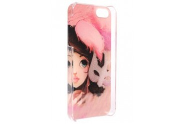 iPhone 5G/5S Girl's Face Case