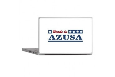 Made in Azusa California Laptop Skins by CafePress