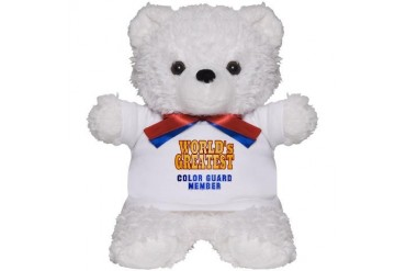 World's Greatest Color Guard Member Marching band Teddy Bear by CafePress
