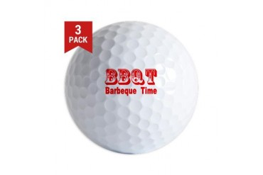 BBQT Chef Golf Balls by CafePress