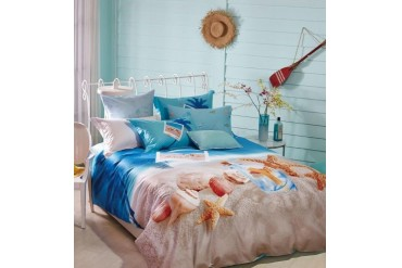 Beach Duvet Cover Set