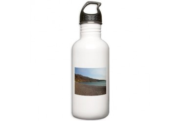 Crete, Greece 2 Nature Stainless Water Bottle 1.0L by CafePress
