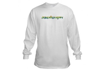 Jesus was a Hippy Baseball Long Sleeve T-Shirt by CafePress