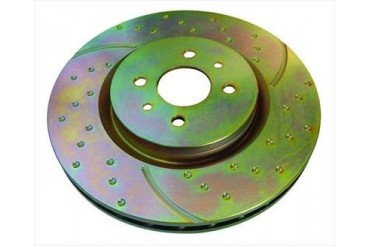 EBC Brakes Rotor GD7572 Disc Brake Rotors
