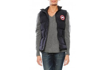 Freestyle Vest in Navy - designed by Canada Goose