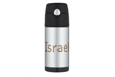 Israel Pencils Israel Thermos Bottle 12oz by CafePress