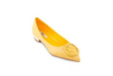 Oriental Buckled Pointed Flats