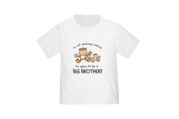 big brother t-shirts monkey Toddler T-Shirt