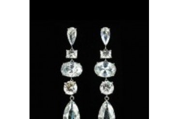Jim Ball Earrings - Style CZ175