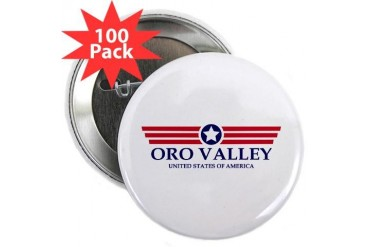 Oro Valley Pride Arizona 2.25 Button 100 pack by CafePress