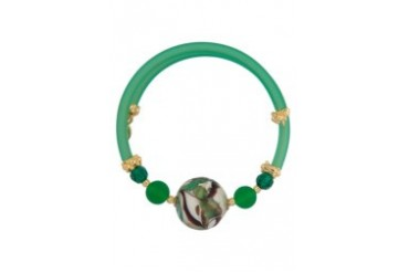 Murano Glass Slip On Bracelet
