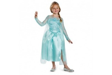 Frozen Girls Elsa Snow Queen Halloween Costume
