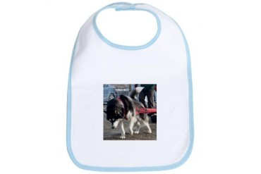 Alaskan Malamute Power Dog Bib by CafePress