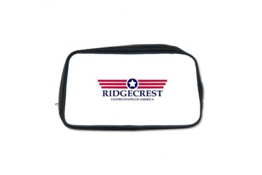 Ridgecrest Pride California Toiletry Bag by CafePress