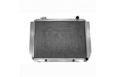 Griffin Thermal Products Performance Aluminum Radiator for Jeep CJ7 with GM LS1 Engine and Automatic Transmission 5-282LC-JAX Radiator