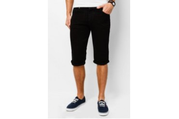 Electro Denim Lab Regular Tapered Denim Bermuda Shorts