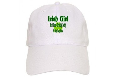 Irish Girl Drinking Buddy Mother's day Cap by CafePress