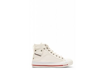 Diesel White Denim Exposure W Sneaker