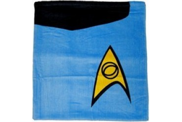 Star Trek Spock Blue Science Officer Towel