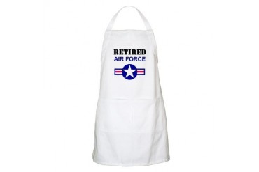 Retired Air Force BBQ Apron