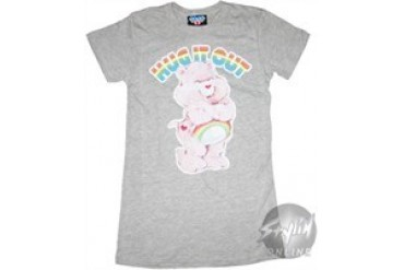 Care Bears Hug Out Baby Doll Tee by JUNK FOOD