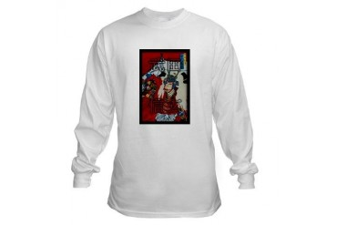 Samurai Honor Code Japanese Long Sleeve T-Shirt by CafePress