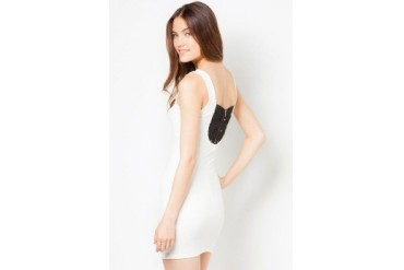 Material Girl Textured Bodycon Dress