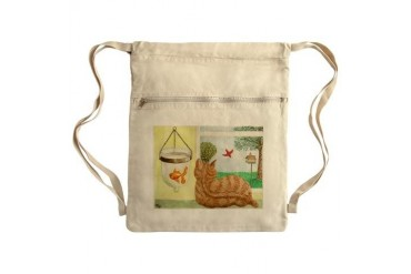 Sack Pack Animals Cinch Sack by CafePress