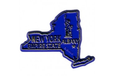Ddi New York Magnet 2d 50 State Navy (pack Of 144)