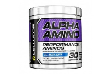 Cellucor Alpha Amino Acid Icy Blue Razz Endurance Muscle Soreness G4 BCAA