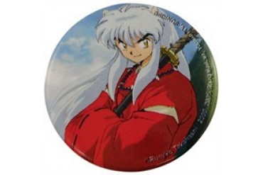 Inuyasha Arms Crossed Button