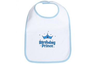 1st Birthday Prince! Bib