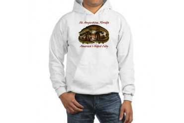 Alcazar Crocodile History Hooded Sweatshirt by CafePress